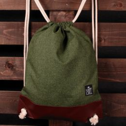 Nuff Tote backpack | Green melange
