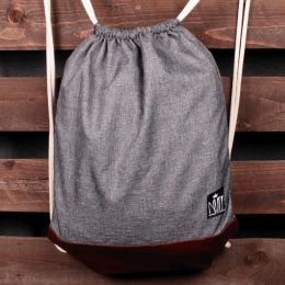 Nuff Tote backpack | Gray melange