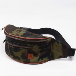 Nuff Hike oxide bum bag - Woodland