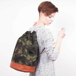 Nuff Duffel bag - woodland