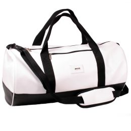 Gym & Sports fitness Nuff Duffel Bag - black and white
