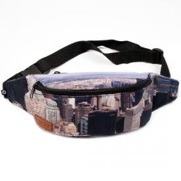 Nuff Allprint Bum Bag - The Big Apple