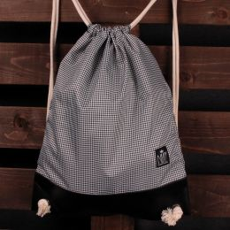 Nuff Tote backpack | Houndstooth