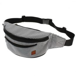 Nuff Hike bum bag - Houndstooth